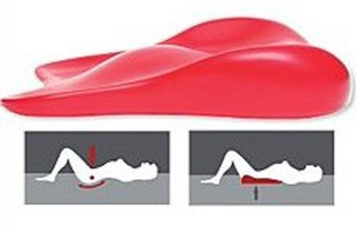 Deluxe Comfort Lover's Cushion Sex Positioning Wedge Ramp ? Patented Pelvic Leverage to Increase Conception ? Deeper Penetration ? Better Sex ? Cushion/Ramp, Pink