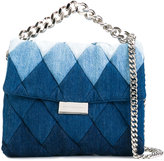 Stella McCartney patchwork denim shoulder bag