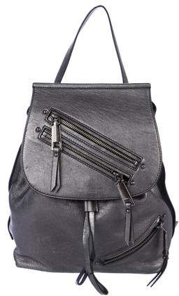 Marc Jacobs Metallic Leather Backpack