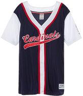 PINK St. Louis Cardinals Mesh Button Down Jersey