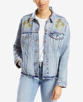Levi's Ex-Boyfriend Embroidered Trucker Jacket