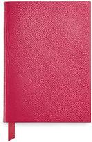 Smythson Leather Manuscript Book, Fuchsia