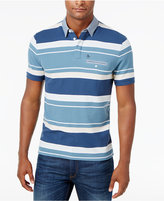 Original Penguin Men's Slim-Fit Striped Polo
