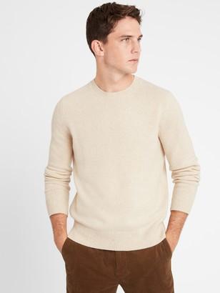 Banana Republic Italian Wool-Blend Crew-Neck Sweater