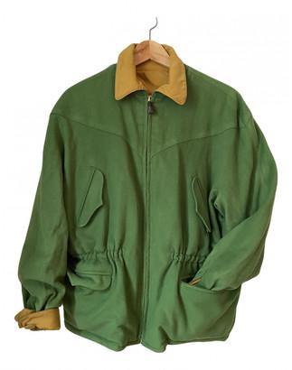 Hermes Green Wool Coats
