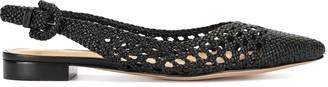Alexandre Birman Cadie Flat Slingback sandals