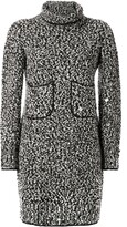 Chanel Pre Owned long sleeve knit dress