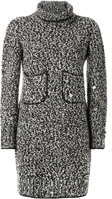 Chanel Pre-Owned long sleeve knit dress
