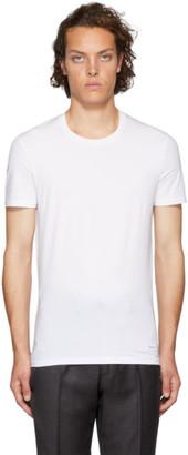 Ermenegildo Zegna White Round Neck T-Shirt