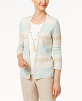 Alfred Dunner Ladies Who Lunch Layered-Look Sweater