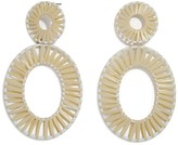 BaubleBar Kiera Raffia Statement Earrings