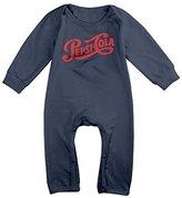 TIKAMELODY Pepsi-cola Logo 1940 Baby Onesie Bodysuit Newborn Romper 6 M