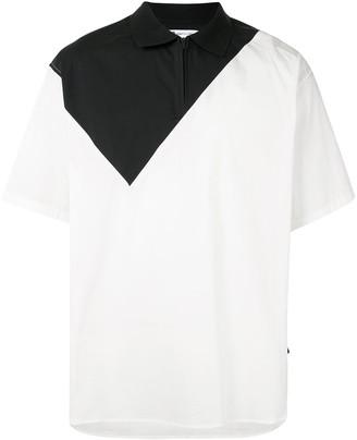 Y-3 Geometric Woven Polo Shirt