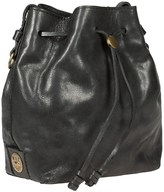Will Leather Goods Mini Drawstring Bucket Bag - Leather