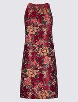 Marks and Spencer Jacquard Print Swing Dress