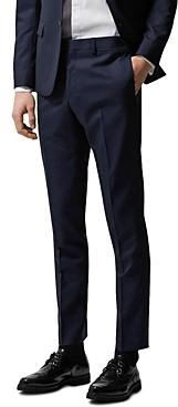 The Kooples Tonic Seams Wool Suit Trousers