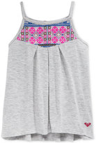 Roxy Crafty Embellished Tank Top, Little Girls (2-6X)