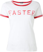 Mother Faster print T-shirt - women - Supima Cotton - XS