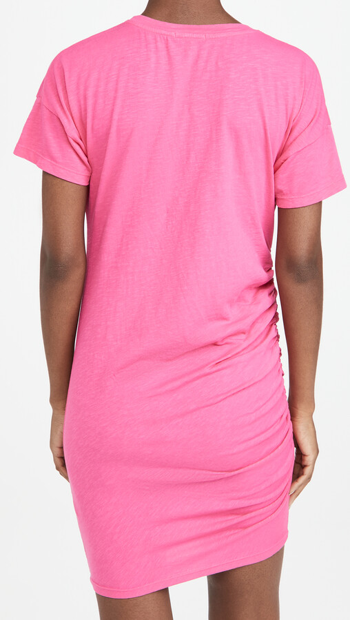 Thumbnail for your product : Sundry Side Shirred Tee Dress