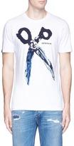 Denham Jeans 'Blue Steel' logo print T-shirt