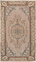 Ecarpetgallery eCarpet Gallery 182808 Hand-Knotted Melis Vintage Ivory Traditional 5' x 9' 100% Wool Kitchen Dining Room Area Rug