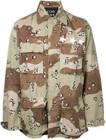 Icons - camouflage shirt - men - Cotton - XS