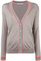 Agnona v-neck cardigan - women - Silk/Cashmere - 42
