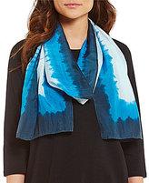 Eileen Fisher Silk Shibori Frames Scarf
