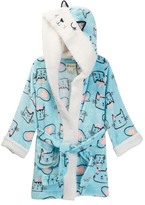 Petit Lem Meow Kitty Knit Robe (Toddler & Little Girls)