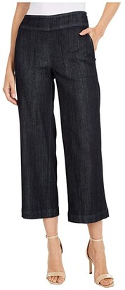 Nic+Zoe Summer Day Denim Pants (Midnight Wash) Women's Casual Pants