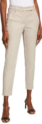 Brunello Cucinelli Twill Slash Pocket Trousers