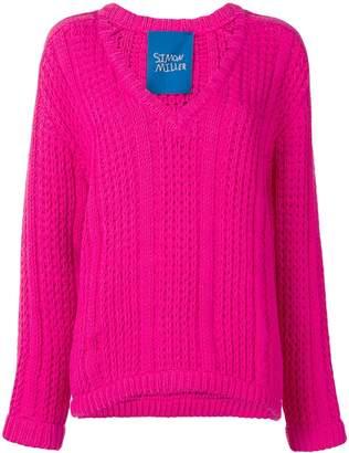 Simon Miller V-Neck Knitted Sweater
