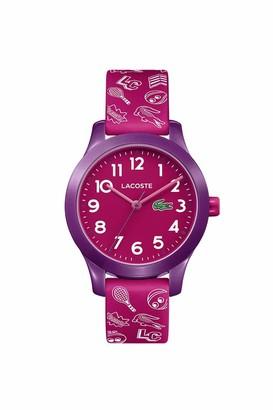 Lacoste Kids' TR90 Quartz Watch with Rubber Strap