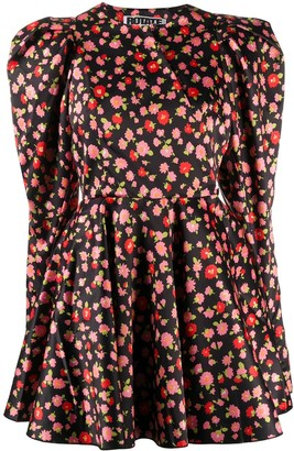 Rotate by Birger Christensen Pauline flared dress