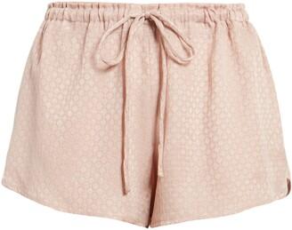 Izar Jacquard Lounge Drawstring Shorts