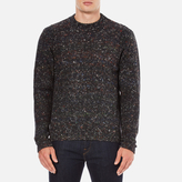 Ps By Paul Smith Crew Neck Flecked Jumper Multi