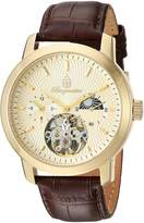 Burgmeister Men's BM225-275 Analog Display Automatic Self Wind Brown Watch