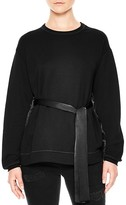 Sandro Jude Belted Top