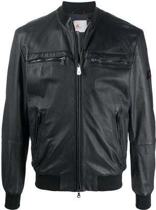 Peuterey Zipped Leather Jacket