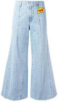 Au Jour Le Jour wide-leg jeans