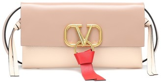 Valentino VRING Small leather crossbody bag