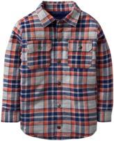 Crazy 8 Plaid Shirt Jacket