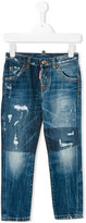 DSQUARED2 destroyed effect jeans