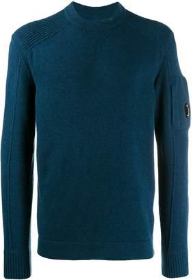 C.P. Company ribbed shoulders jumper