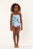 Mara Hoffman Kids Tie Side One Piece
