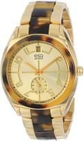 ESQ by Movado ESQ Movado Women's 07101426 Origin Tortoise Toned Steel Case Bracelet Dial Watch