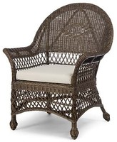 The Well Appointed House Martha's Vineyard Wicker Chair-Available in a Variety of Finishes