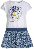 Kanz BLUE MOTION Jersey dress bright white