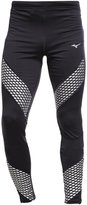 Mizuno Tights Black/green Gecko