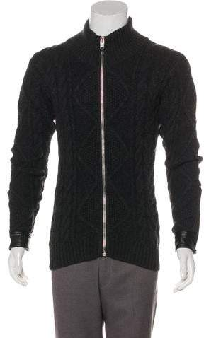Christian Dior Wool Cable Knit Sweater